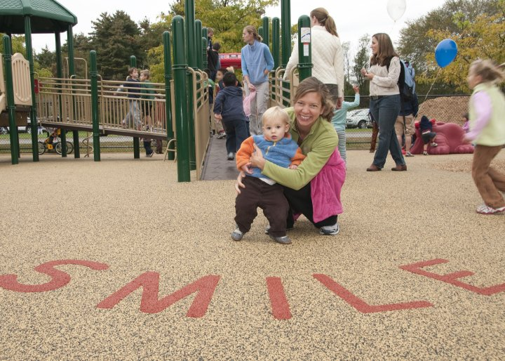 accessible playgrounds from smile mass
